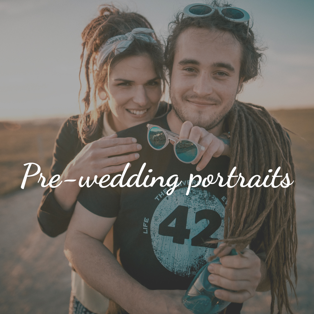 Pre-wedding portraits Svatber - wedding photography and video